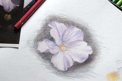 Zeichnen mit Buntstiften