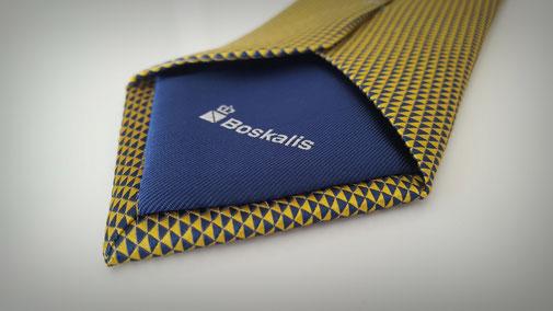 Logo Stropdassen met custom made tipping
