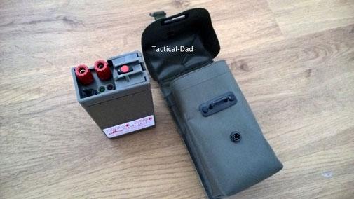 DNW ENWA 83 Zündmaschine des österreichischen Bundesheeres für 4,5V Flachbatterie. Zündmaschinen unterliegen keinen rechtlichen Einschränkungen.