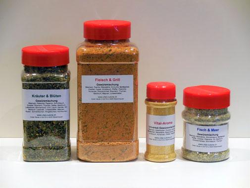 Vital-Cuisine, Naturgewürze, Biogewürze, vegan, ohne Zusatzstoffe, Gewürzmanufaktur, Würzprofi, Würzmeister