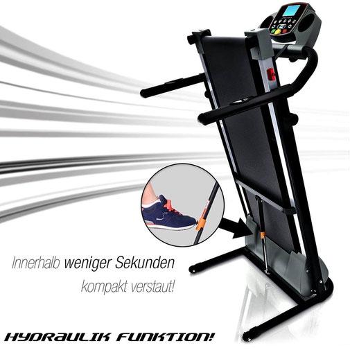 Klappbares Laufband Sportstech F10 Laufband Vergleich