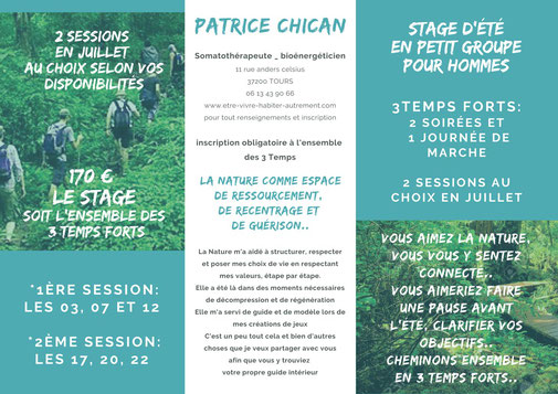 stage de patrice chican a Tours