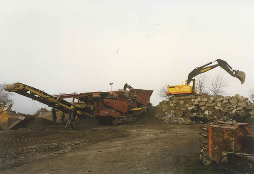 Gschwend Transport Engelburg St. Gallen Betonrecycling Recycling Kies