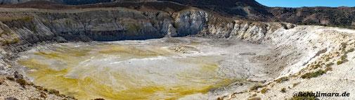 Blick in den Stefanos-Krater