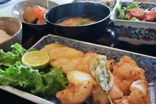 Asamiya tea leaf tempura