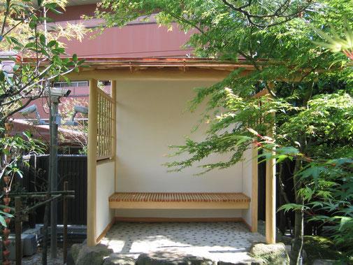 日本庭園 四阿