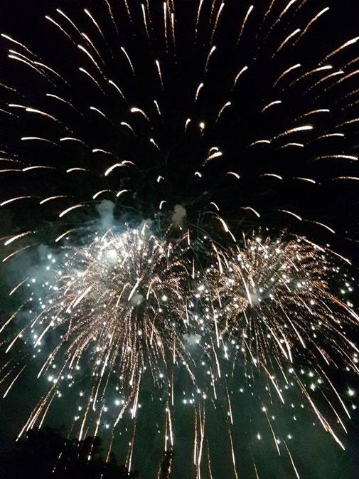 Feuerwerk Sommerfest Höfen an der Enz