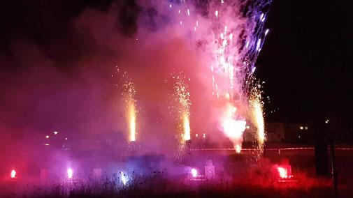 Feuerwerk Geburtstag Rottenburg am Neckar