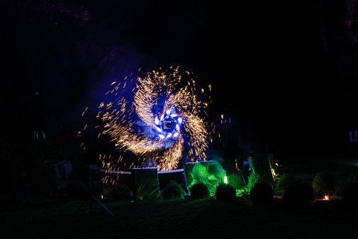 Hochzeits Feuerwerke Golfplatz Bruchsal Schloß Langenburg MK-Pyrodesign GbR