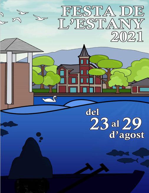 Festa de l'estany de Puigcerdà 2021 - Cartell