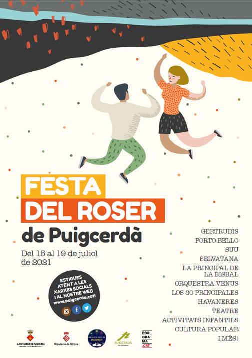 Cartell festa del Roser de Puigcerdà 2021