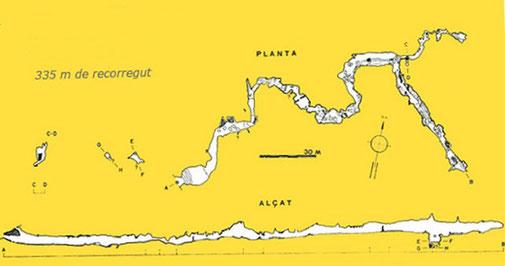 Senderisme - A peu - Interior de la cova d'Anes -3