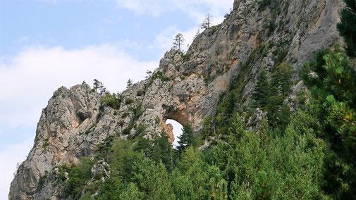 Senderisme - A peu - Roca Foradada