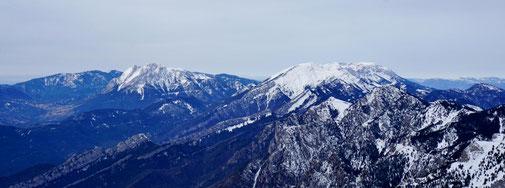 Vistes des de la Tosa d'Alp