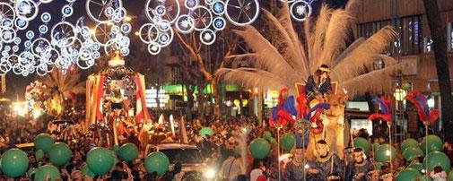 horario y recorrido de la Cabalgata de Reyes de Córdoba