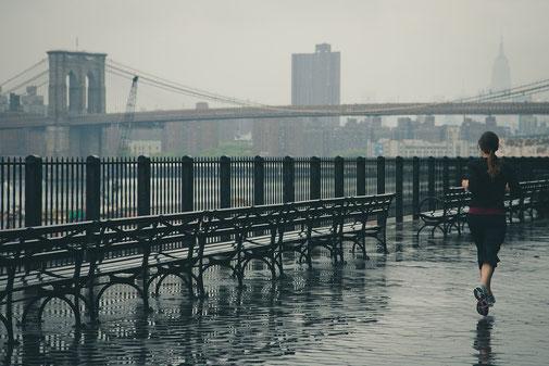 Courir sous la pluie motivation trail
