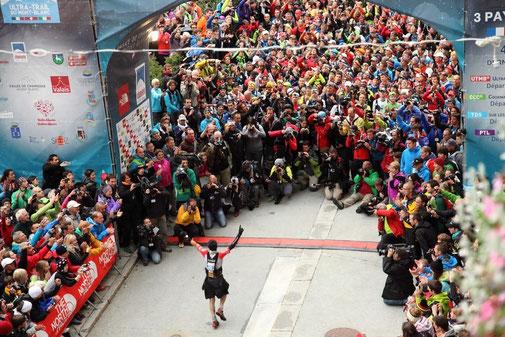 Finisher ultra-trail