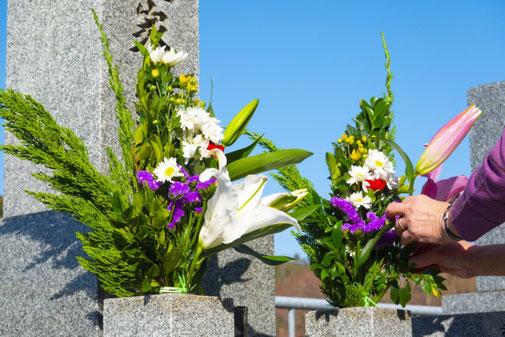 墓石のお手入れ方法