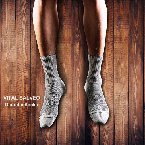 Seamless Diabetic Socks (long)