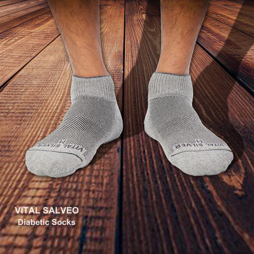 Seamless Diabetic Socks (Short)