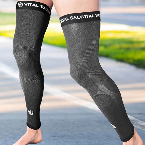 Vital Salveo-Recovery Compression Full Leg Sleeves