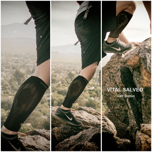 Compression Calf/Shin Sleeve / Black