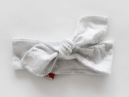 Haarband Haarschleife handgenäht hangemacht kinder accessoires baby geschenk - bandeau pour cheveux noeud fait main couture main accessoirse pour enfant cadeau de naissance petit pompon