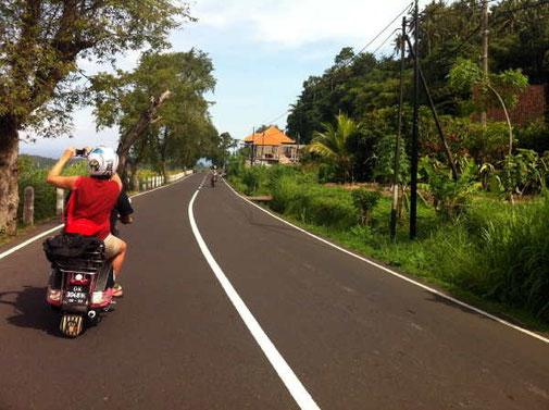 road in a village