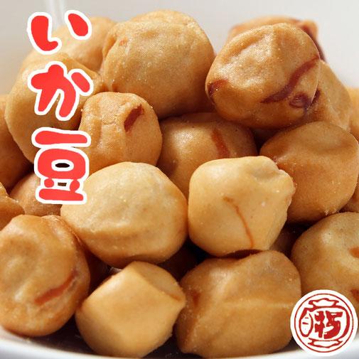 カリカリの 白い糖衣をまとった 大豆の 豆菓子です。 ほのぼのとした 素朴な味わいは、 飛騨駄菓子の 原点ともいえます。