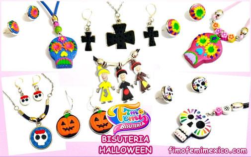 Colección de bisutería para Halloween