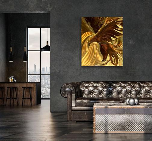 Messingdesign, Kunst, Licht, Sonne, schleifen, Messing, Design, 3D, edel, Sonne, Licht