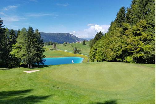 Golfhotel Vogelperspektive Therme Golfferien Ferien Italien Abano
