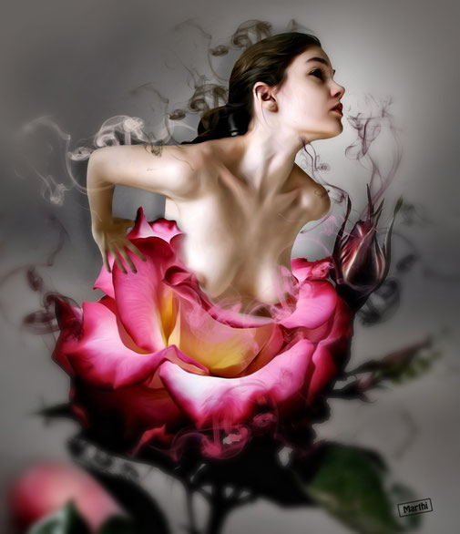 """Speed Art"" una rosa"