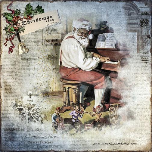 Laminas Vintage Navidad