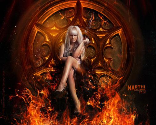 Te espero en el infierno 1º PREMIO EN Deviantart