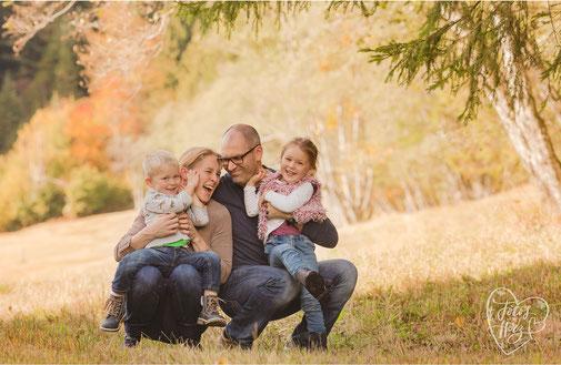 Familienshooting im Freien