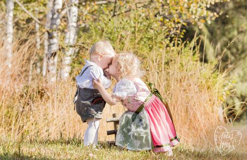 Kindershooting im Wald