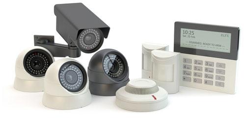 Unfangreiche Kamera- und Sicherheitstechnik. Vom DSD Sicherheitsdienst.