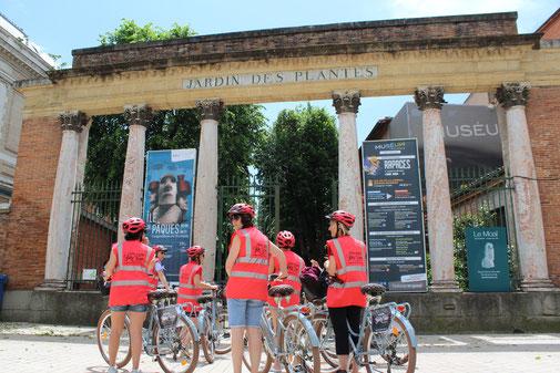 visite guidée de toulouse à vélo avec guide