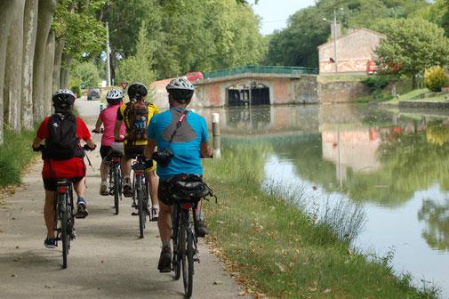 A la découverte du Canal du Midi à vélo
