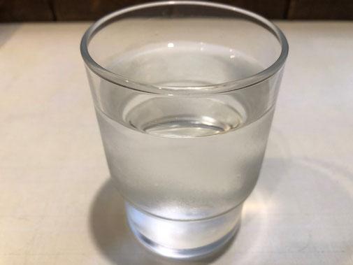 洋食屋みさくぼのこだわりのお水