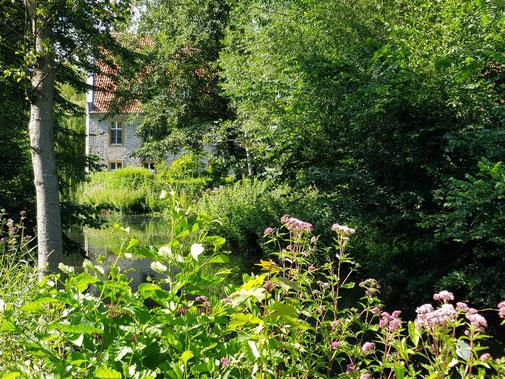 Kloster Vinnenberg lädt alle Sinne zum Schreiben ein.