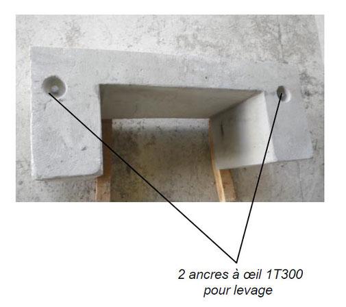 Socle en béton pour armoire électrique - conception Pajot Entreprise - Lot et Garonne