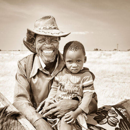 faces of botswana