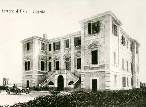 Castelrosso di Ferrere nel 1913