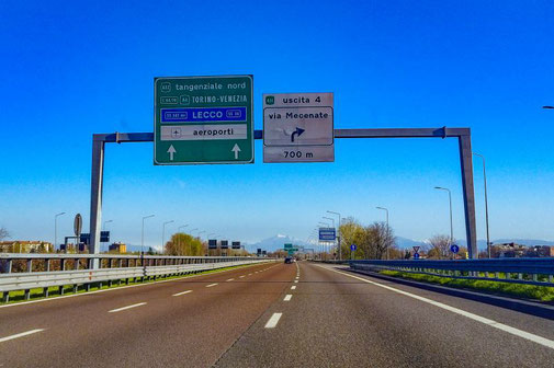 Italien, Autobahn, Strasse, Roadtrip, Die Traumreiser