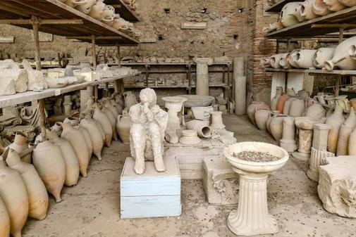 Pompeji, Neapel, Ausgrabungen, historisch, Opfer