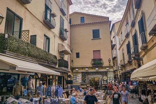 Sorrent, Neapel, Die Traumreiser, Fußgängerzone, Altstadt