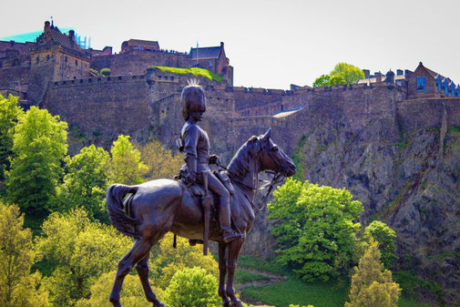 Edinburgh Castle, Schloss, Edinburgh, Die Traumreiser