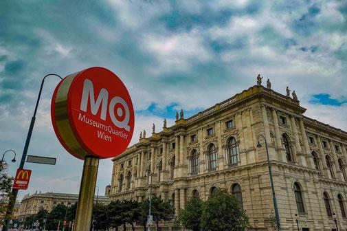 Wien, Vienna, Österreich, Die Traumreiser, MQ, Museumsquartier